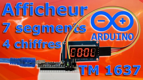afficeur 7 segments 4 chriffres tm1637